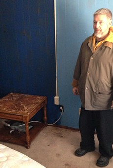Dojo Pizza owner Loren Copp has begun cleaning and plans to reopen in the spring.