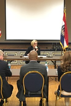 Senator Claire McCaskill visited Jeff City yesterday to call for action.