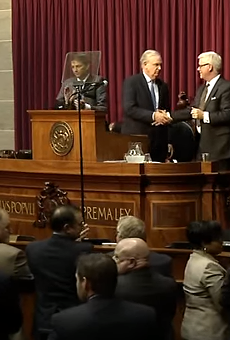 On the bright side, at least we'll never have to endure another Jay Nixon State of the State speech.