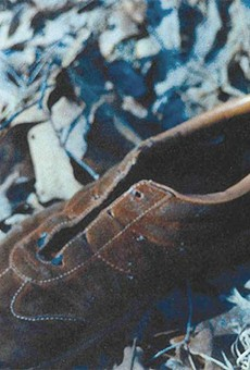 Judy's shoe was found at the crime scene after her killer strangled her with her shoelace, then blasted her with a shotgun.