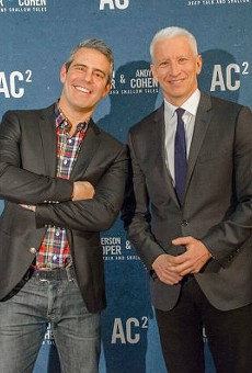 Andy Cohen and Anderson Cooper are bring deep talks and shallow tales to the Fabulous Fox on Oct. 15.