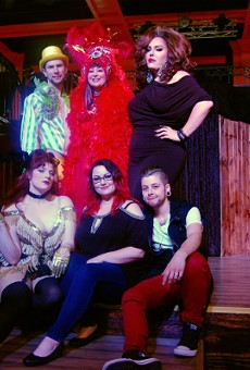 Charlotte Sumtimes (center, back row) is helming the entertainment at the Soulard Supper Club. She'll be joined in the next few weeks by Kenadie St James, Kobra Belle, Sir Lixx A Lot, DJ Stephanie Hall and Sofie De Sade.