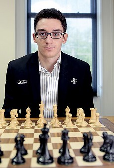 The newest U.S. Chess Champion, Fabiano Caruana.