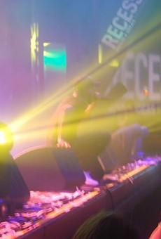Musician Torey Lanez raps to the crowd.