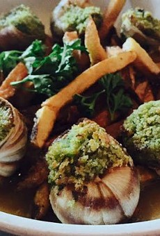 """""""Escargot and Frites"""" fuses Belgian and French classic dishes."""