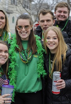 St. Patrick's Day brings the party people to Dogtown.