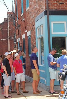 The line was out the door for Tropical Liqueurs opening weekend last summer.