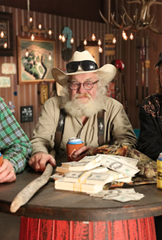 """Co-owners Jeremiah Raber and Matt Heck will pitch the cast of West Texas Investors Club. From left, Mike """"Rooster"""" McConaughey (Matthew McConaughey's brother), Gil Prather and Wayne """"Butch"""" Gilliam."""