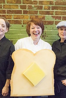 Rachel Moeller, Amanda Geimer and Colleen Clawson of Milque Toast Bar.