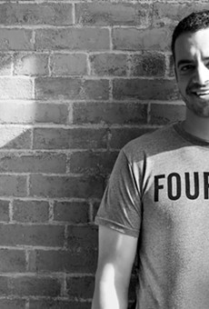 Daniel Shapiro is the sole pioneer of Fourlaps, a men's athletic apparel brand