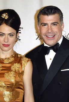 Bryan Batt, shown with Mad Men co-star Maggie Siff.