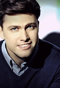 SNL Cast member Colin Jost is bringing laughs to The Pageant Saturday Aug. 20.