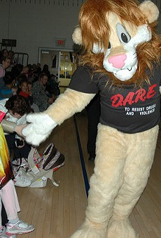 Are we still letting this pantsless lion determine drug policy?