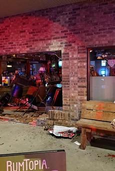 Driver Blasts Through Brick Wall at Eureka Bar, Injuring 3 Customers