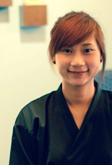 Pui Nammakhot alleges her Sushi Station co-owner has threatened her.