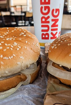 Which is the Whopper, and which is the Impossible Whopper?