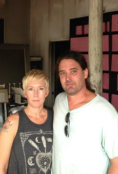 Jenna and Jason Siebert plan to rebuild the Sweet Divine bakery after a fire.