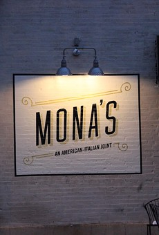 Mona's is located on Shaw Avenue in the Hill.