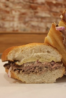 The French Dip is the signature dish at Eat Sandwiches.