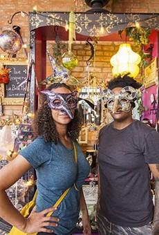 Misha Sampson and Ceaira Jackson at Soulard's La Belle Histoire.