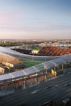 Could this stadium be built without public money?