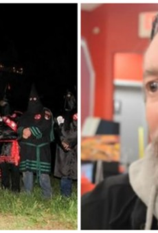 """Frank Ancona's reign as """"Imperial Wizard"""" of a KKK chapter has met a violent end."""