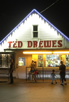 Happy birthday to Ted Drewes, a St. Louis classic.