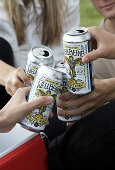 WellBeing is making the first-ever beer enhanced with electrolytes.