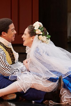 Figaro (Aubrey Allicock) and Susanna (Monica Dewey) want only to wed, but complications ensue.