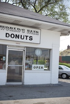 World's Fair Donuts: You won't need to worry about parking if you're on a bike.