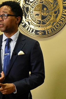 St. Louis Prosecuting Attorney Wesley Bell announces charges in the case.