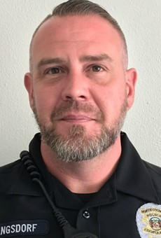 Officer Michael Langsdorf was killed on Sunday afternoon.