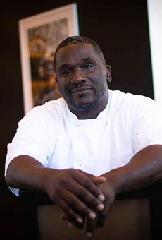 Even though he's now executive chef at Kingside Diner, Eric Prophete still finds himself working the line.