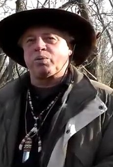"Kenn ""Grey Elk"" Descombes, chief of the Missouri-based Northern Cherokee Nation."