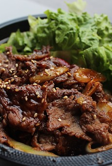 BoB.Q offers four types of bowls served with rice and vegetables, including the beef bulgogi bowl.