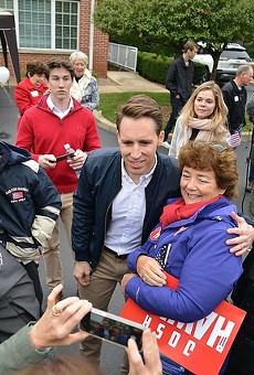 Republican darling and anti-cosmopolitan politician Josh Hawley.