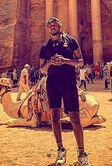 St. Louis rapper Tef Poe visits the Jordanian city of Petra during his trip as an ambassador to the country.