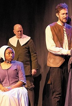 Stray Dog Theatre's performance of The Crucible.