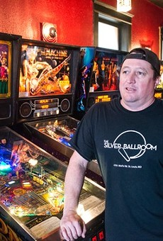 Pinball reigns supreme at Silver Ballroom.