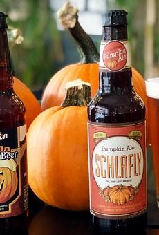 Carve a Jack-o'-lantern, Crush Pumpkin Beer Today at Grand Tavern