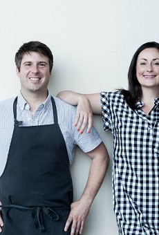 Michael and Tara Gallina have big plans for the forthcoming Winslow's Table.