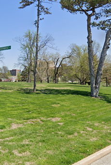 The robbery happened on Monday morning near 5175 Grand Drive inside the park.