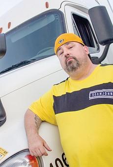 Anthony Greene runs Truckers Against Predators.