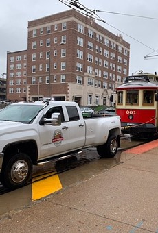 It would have been cheaper to buy trucks for everyone on the Delmar Loop.