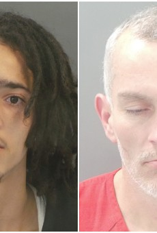 Matthew Warnack, left, and Joseph Adkins are facing felony charges.
