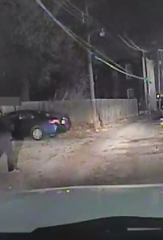 Dash camera footage captured the moments prior to a fatal police shooting.