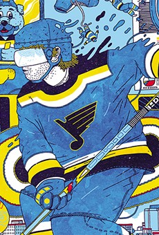 For the St. Louis Blues, it was a long way to the top.