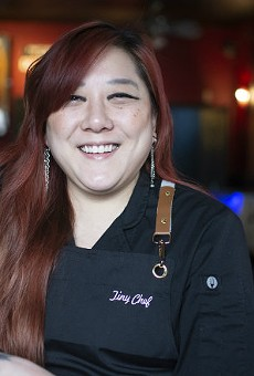Melanie Meyer runs Tiny Chef inside the Silver Ballroom.