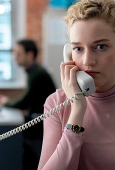 Julia Garner stars as Jane in The Assistant.