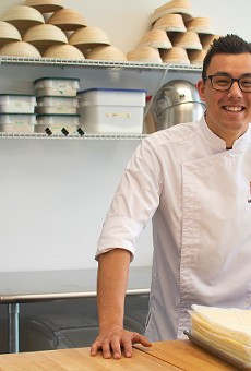 Shimon Otsuka is kitchen manager at Nathaniel Reid Bakery.